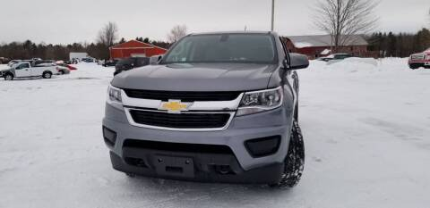 2018 Chevrolet Colorado for sale at SKYLINE AUTO CENTRE in Wisconsin Rapids WI