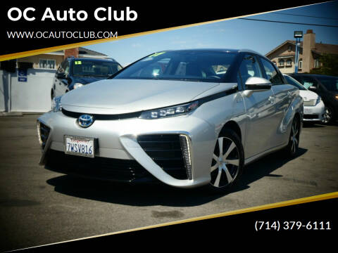 2017 Toyota Mirai for sale at OC Auto Club in Midway City CA