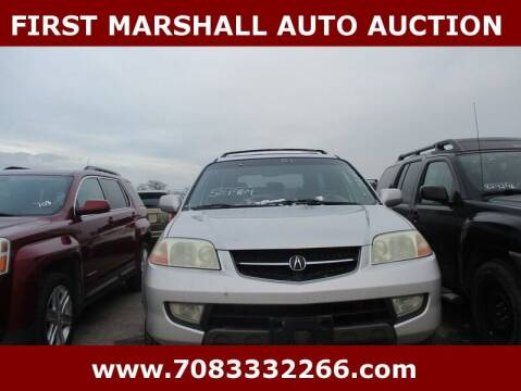 2001 Acura MDX for sale at First Marshall Auto Auction in Harvey IL