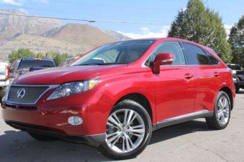 2010 Lexus RX 450h for sale at REVOLUTIONARY AUTO in Lindon UT