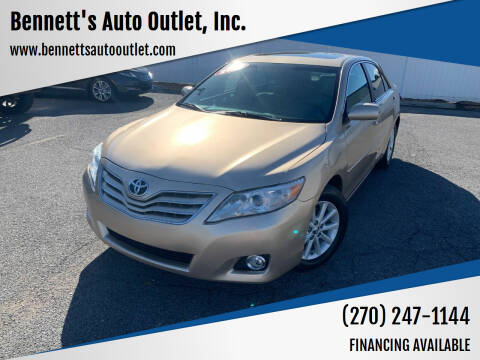 2010 Toyota Camry for sale at Bennett's Auto Outlet, Inc. in Mayfield KY