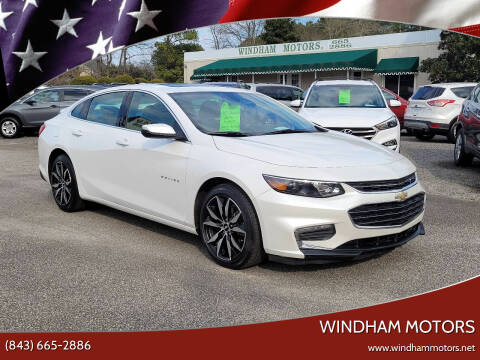 2017 Chevrolet Malibu for sale at Windham Motors in Florence SC