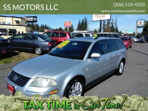 2003 Volkswagen Passat for sale at SS MOTORS LLC in Edmonds WA