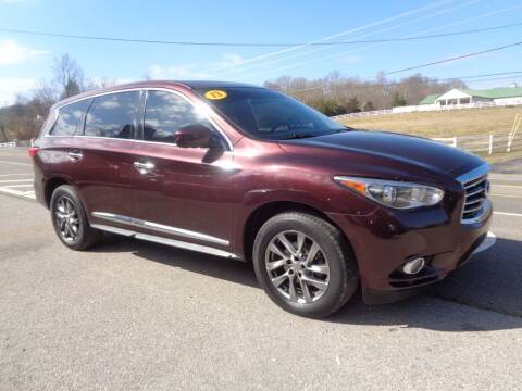 2013 Infiniti JX35 for sale at Car Depot Auto Sales Inc in Seymour TN