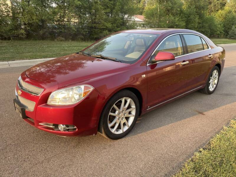 2008 Chevrolet Malibu for sale at Angies Auto Sales LLC in Newport MN