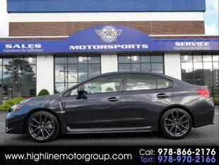 2019 Subaru WRX for sale at Highline Group Motorsports in Lowell MA