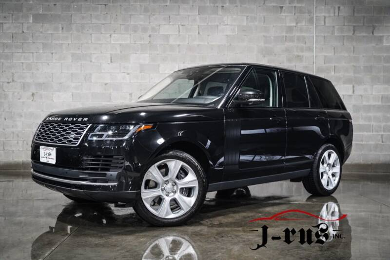2019 Land Rover Range Rover for sale at J-Rus Inc. in Macomb MI