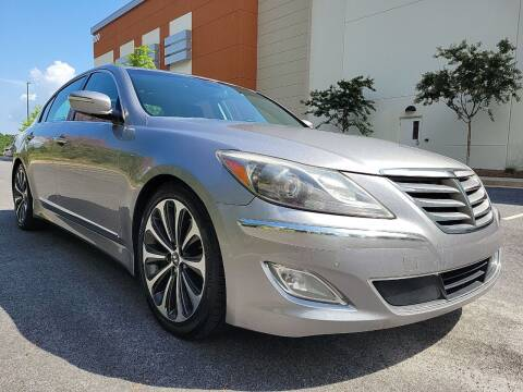 2012 Hyundai Genesis for sale at ELAN AUTOMOTIVE GROUP in Buford GA