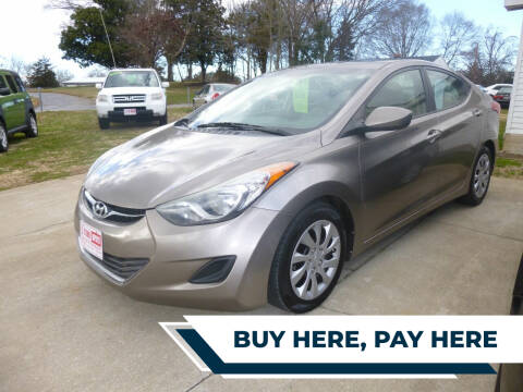 2013 Hyundai Elantra for sale at Ed Steibel Imports in Shelby NC
