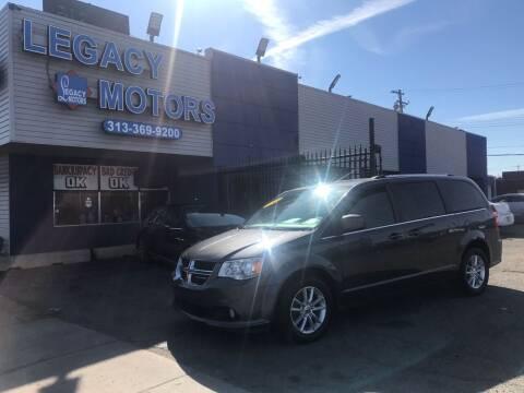 2018 Dodge Grand Caravan for sale at Legacy Motors in Detroit MI