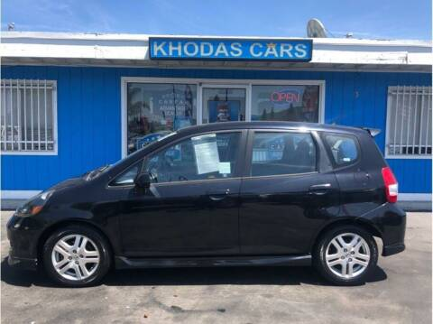 2008 Honda Fit for sale at Khodas Cars - buy here pay here in Gilroy, CA