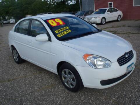 2009 Hyundai Accent for sale at Country Side Car Sales in Elk River MN