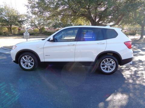 2012 BMW X3 for sale at BALKCUM AUTO INC in Wilmington NC