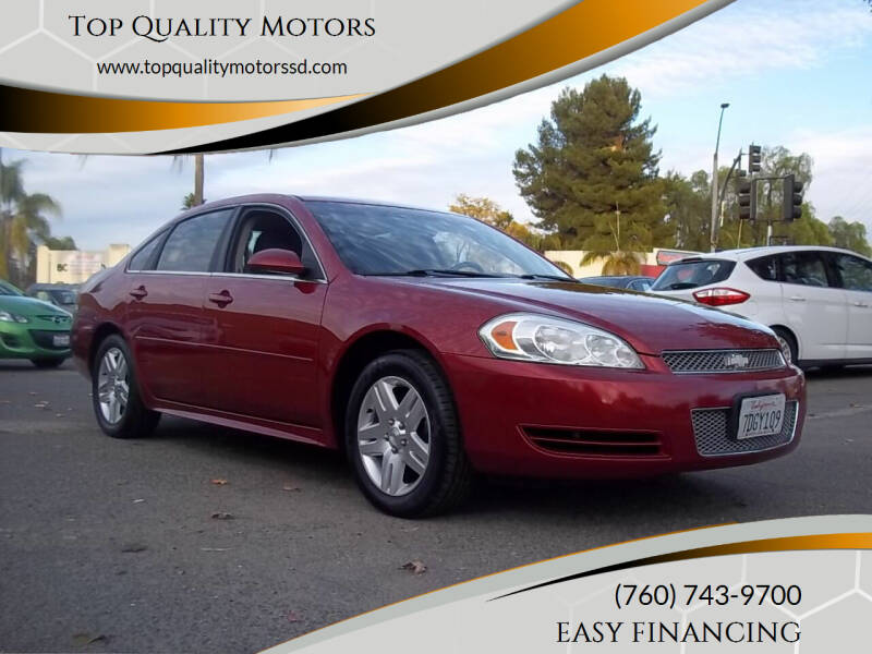 2014 Chevrolet Impala Limited for sale at Top Quality Motors in Escondido CA