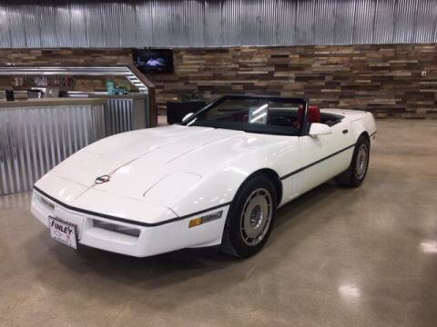 1987 Chevrolet Corvette for sale at Finley Motors in Finley ND