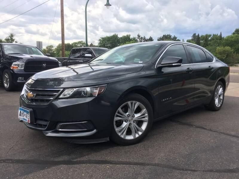 2014 Chevrolet Impala for sale at Premier Motors LLC in Crystal MN