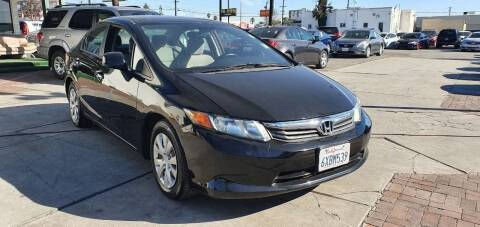 2012 Honda Civic for sale at Auto Land in Ontario CA