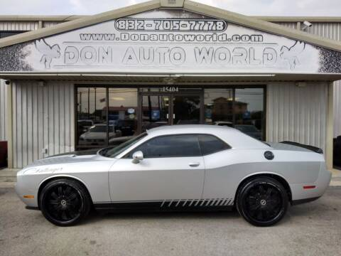 2012 Dodge Challenger for sale at Don Auto World in Houston TX