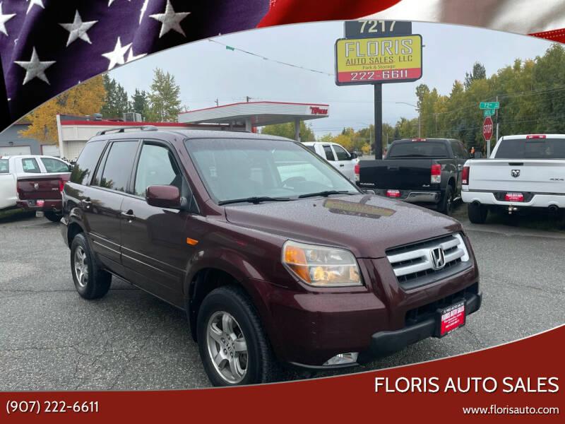 2007 Honda Pilot for sale at FLORIS AUTO SALES in Anchorage AK