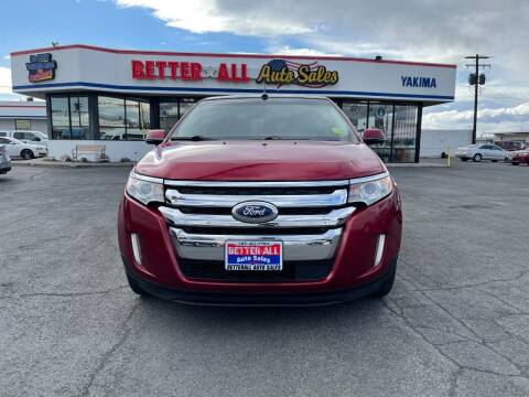 2013 Ford Edge for sale at Better All Auto Sales in Yakima WA