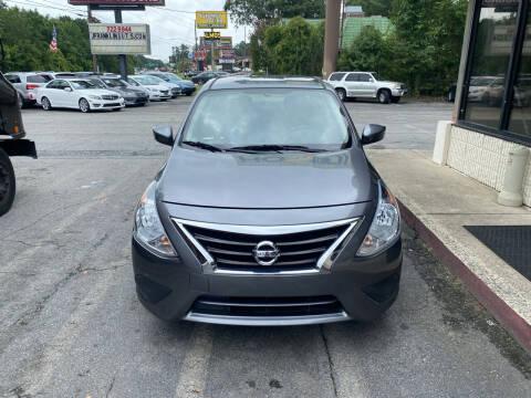 2018 Nissan Versa for sale at J Franklin Auto Sales in Macon GA