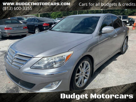 2013 Hyundai Genesis for sale at Budget Motorcars in Tampa FL
