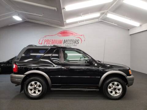 2002 Isuzu Rodeo Sport for sale at Premium Motors in Villa Park IL