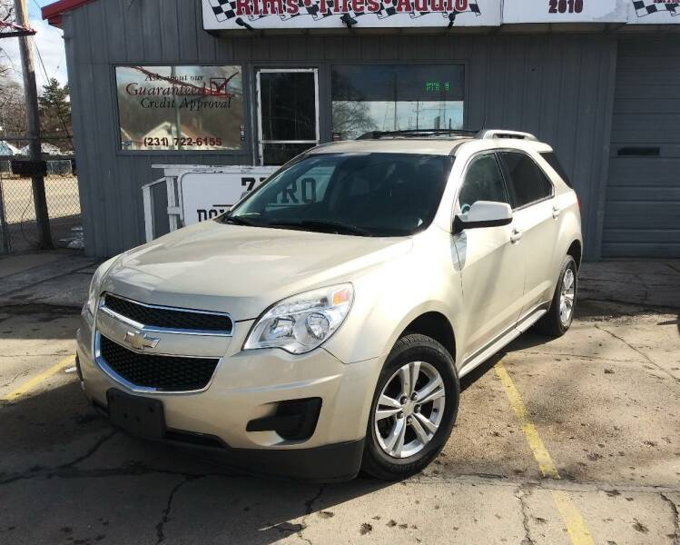 2013 Chevrolet Equinox for sale at Wicked Motorsports in Muskegon MI