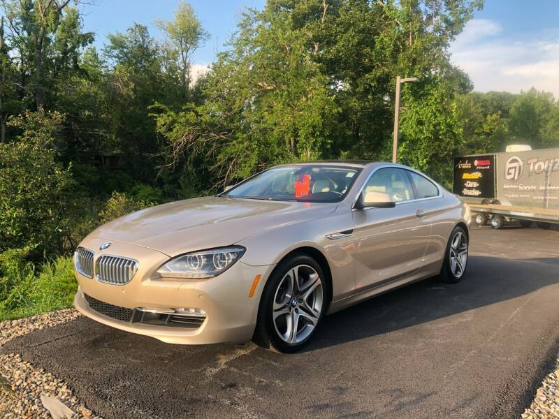 2014 BMW 6 Series for sale at GT Toyz Motor Sports & Marine in Halfmoon NY