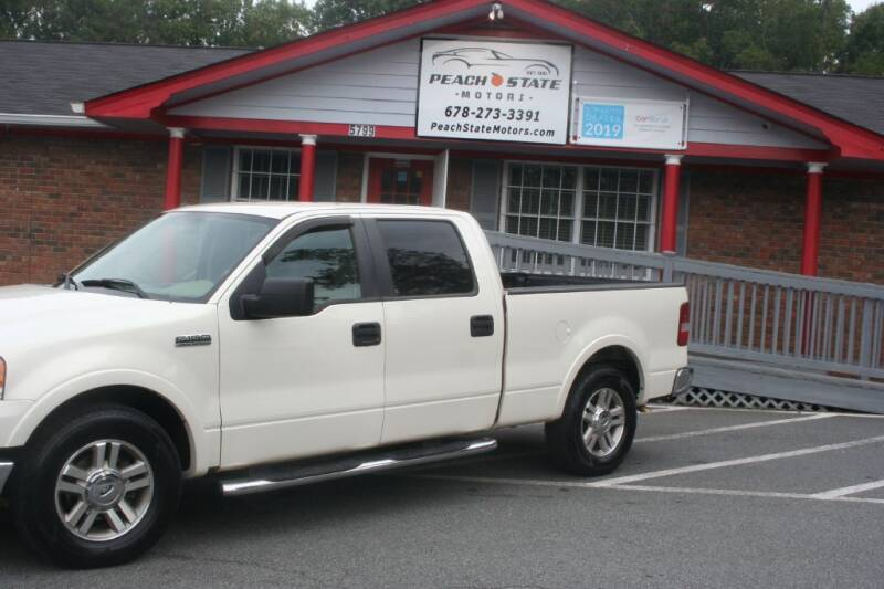 2008 Ford F-150 for sale at Peach State Motors Inc in Acworth GA