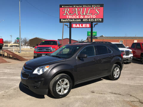 2014 Chevrolet Equinox for sale at RAUL'S TRUCK & AUTO SALES, INC in Oklahoma City OK