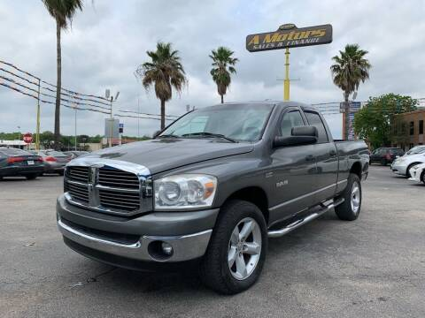 2008 Dodge Ram Pickup 1500 for sale at A MOTORS SALES AND FINANCE in San Antonio TX