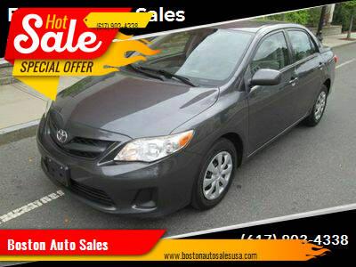 2011 Toyota Corolla for sale at Boston Auto Sales in Brighton MA