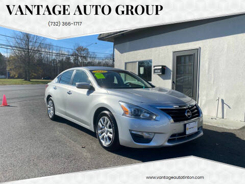 2015 Nissan Altima for sale at Vantage Auto Group in Tinton Falls NJ