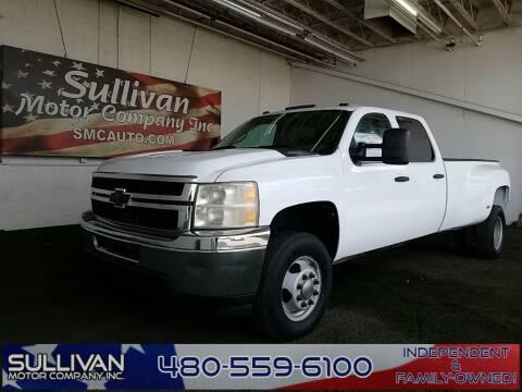 2011 Chevrolet Silverado 3500HD for sale at SULLIVAN MOTOR COMPANY INC. in Mesa AZ