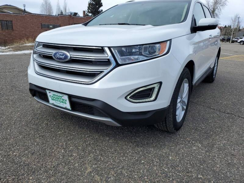 2015 Ford Edge for sale at HIGH COUNTRY MOTORS in Granby CO