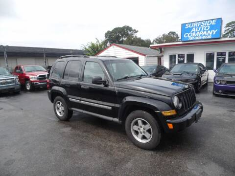 2005 Jeep Liberty for sale at Surfside Auto Company in Norfolk VA
