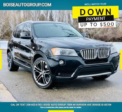 2011 BMW X3 for sale at Boise Auto Group in Boise ID