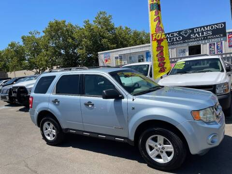 2008 Ford Escape Hybrid for sale at Black Diamond Auto Sales Inc. in Rancho Cordova CA