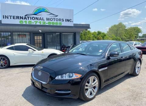 2011 Jaguar XJ for sale at International Motors Inc. in Nashville TN