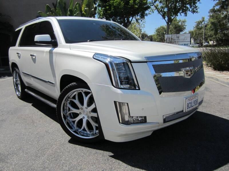 2015 Cadillac Escalade for sale at ORANGE COUNTY AUTO WHOLESALE in Irvine CA