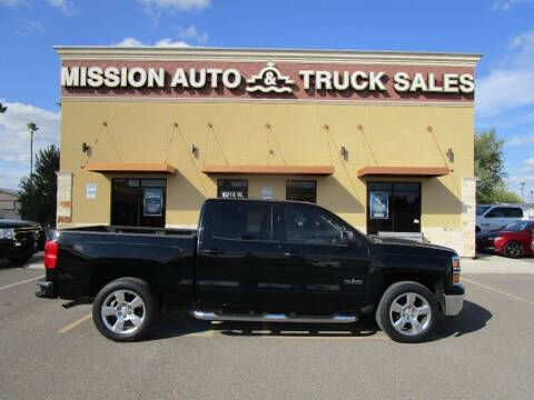 2015 Chevrolet Silverado 1500 for sale at Mission Auto & Truck Sales, Inc. in Mission TX