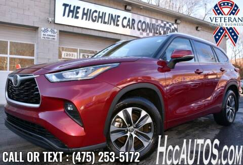2020 Toyota Highlander for sale at The Highline Car Connection in Waterbury CT
