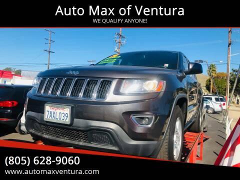 2014 Jeep Grand Cherokee for sale at Auto Max of Ventura in Ventura CA