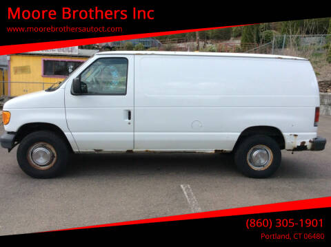 2006 Ford E-Series Cargo for sale at Moore Brothers Inc in Portland CT