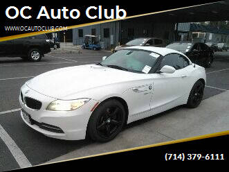 2016 BMW Z4 for sale at OC Auto Club in Midway City CA