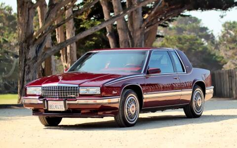 1990 Cadillac Eldorado for sale at Dodi Auto Sales in Monterey CA