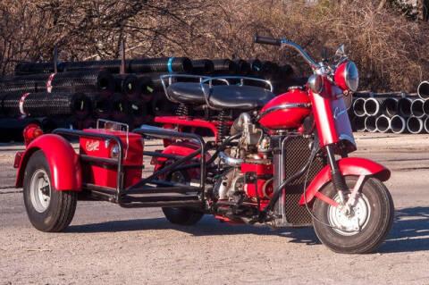 1955 Cushman Eagle Motorcycle