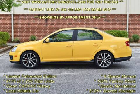 2007 Volkswagen Jetta for sale at Automotion Of Atlanta in Conyers GA