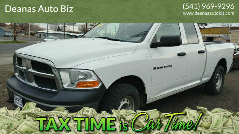 2011 RAM Ram Pickup 1500 for sale at Deanas Auto Biz in Pendleton OR